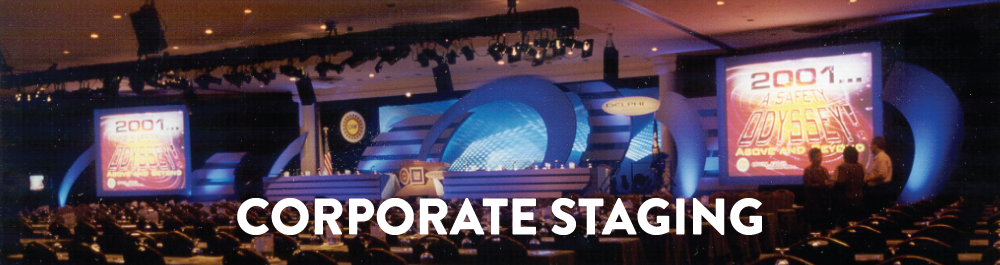 Corporate Staging Banner